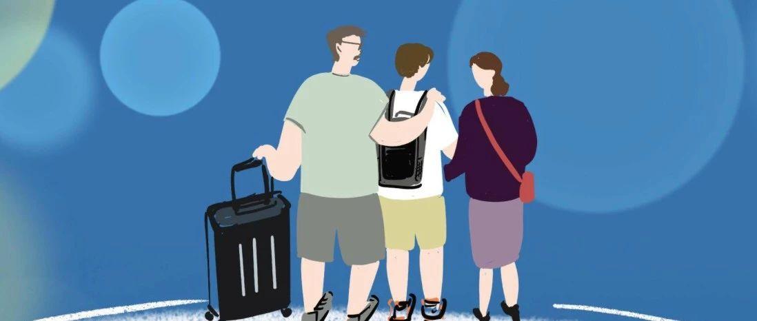 留学生离家的2282个小时。