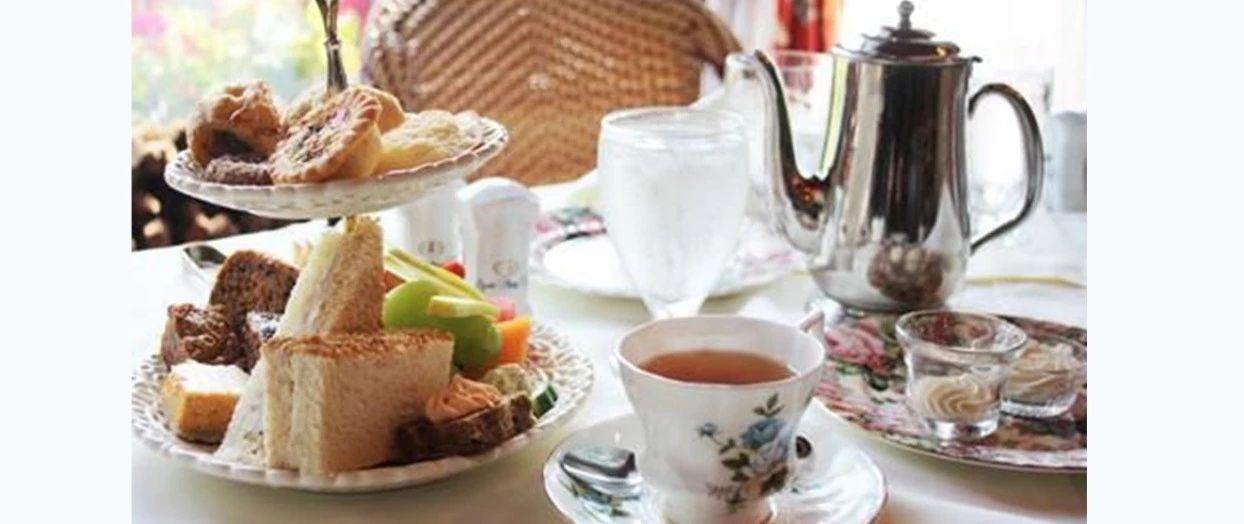 不用去伦敦, 就在华大的边上, 来一场传统英式下午茶!