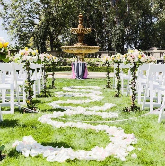城堡, 海景, 玻璃教堂...加州婚礼胜地盘点!
