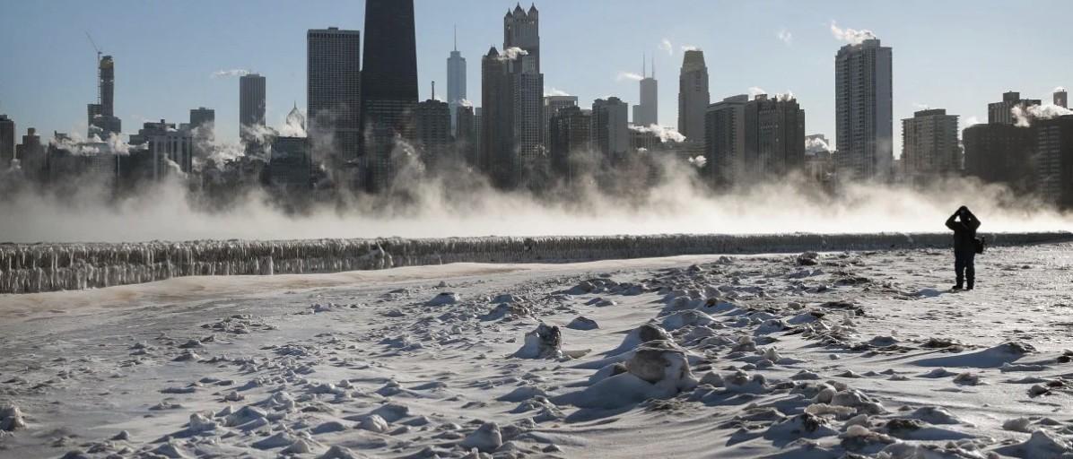 在芝加哥你才知道, 席卷全美的极地寒流到底有多猛!