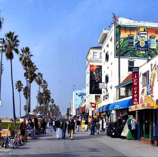 爱上洛杉矶的一万个理由之洛杉矶那数不胜数闪闪发光的海滩们