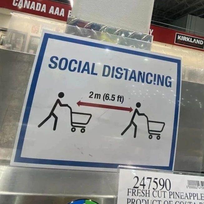 """小分队实探   多伦多""""封城""""后的Costco货物是否还充足?""""社交隔离""""新规如何实施?"""