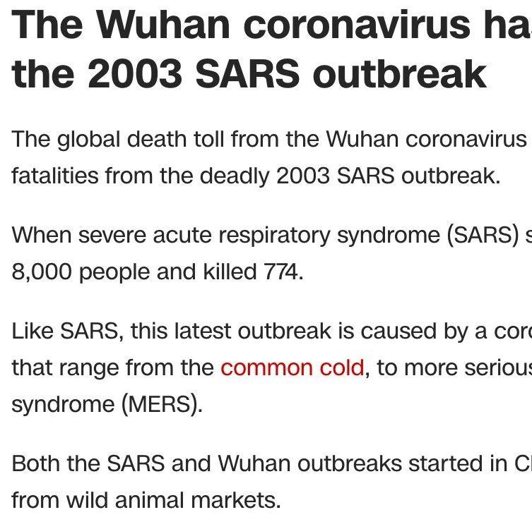 2.9疫情追踪| 新冠肺炎死亡人数已超非典, 加鹅捐赠100万给武汉