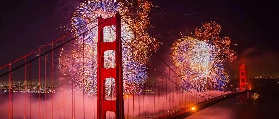 烟火秀, 游轮晚宴, 狂欢party, 湾区2020跨年活动来啦!