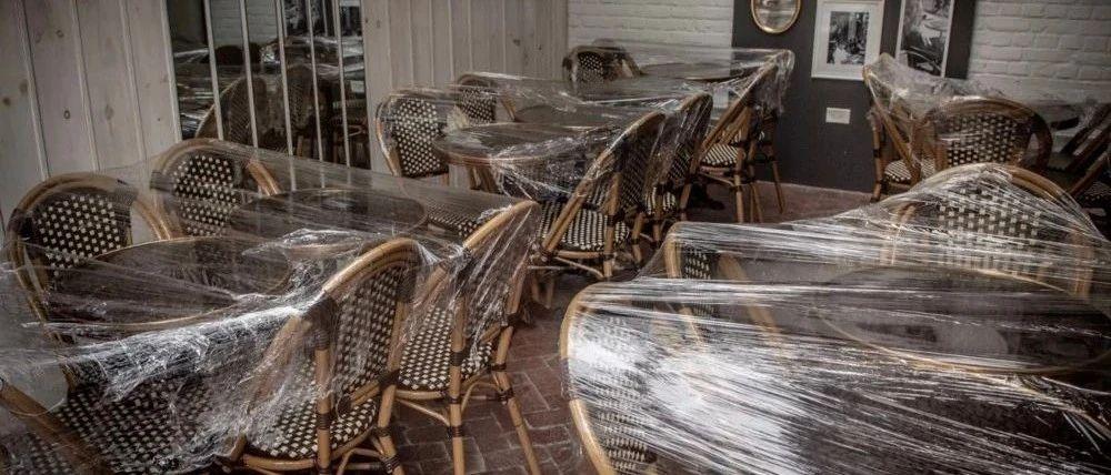 加州、纽约再次关闭堂食, 数据显示美国近半餐厅永久关闭